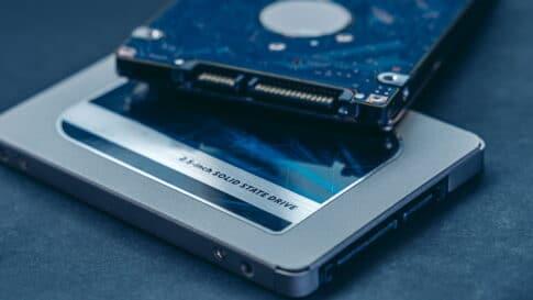 デジタルシネマパッケージで使用するHDDのイメージ