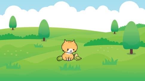 LINEスタンプがリジェクトされて悲しむ猫のキャラクター
