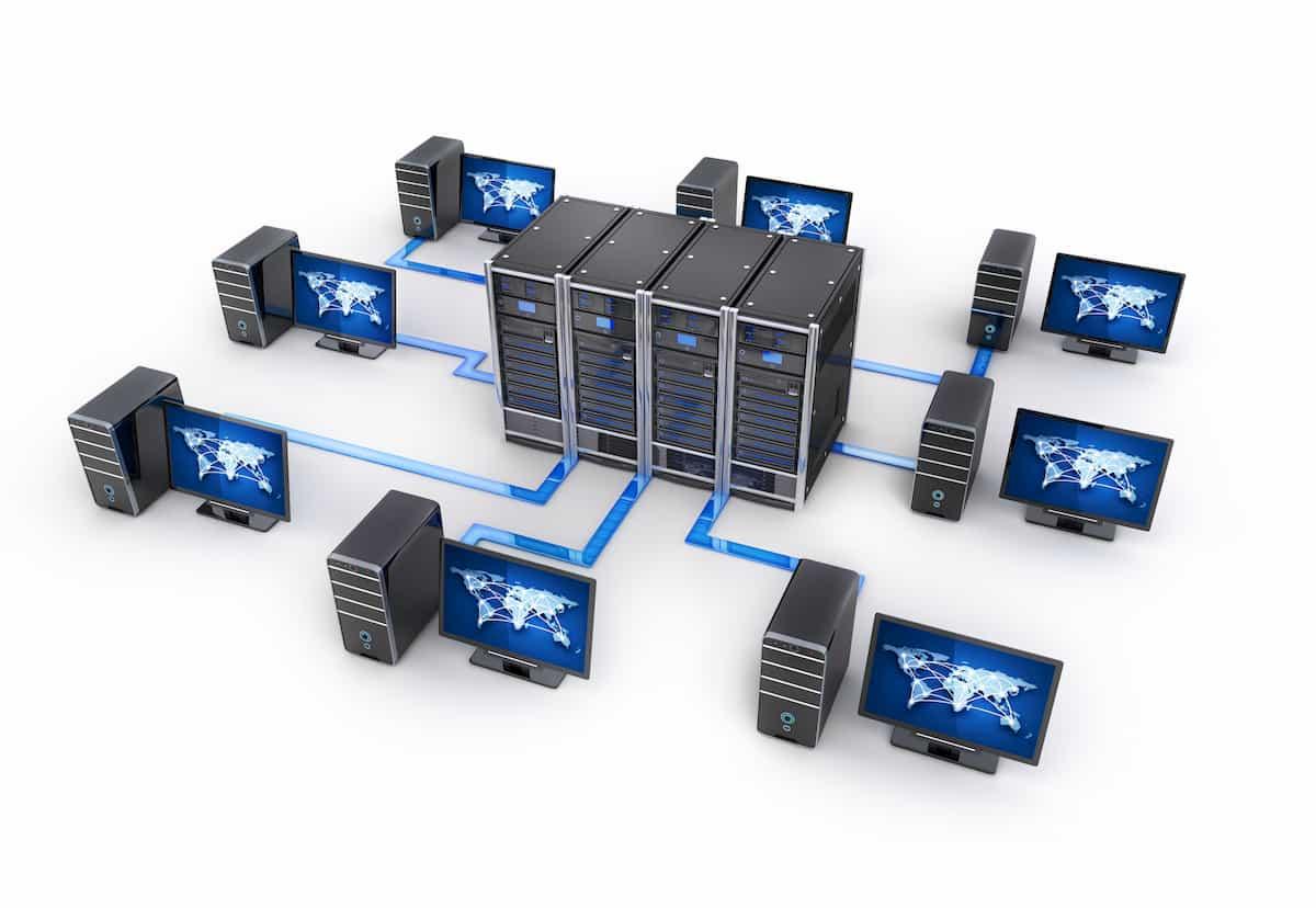 レンタルサーバーのイメージ