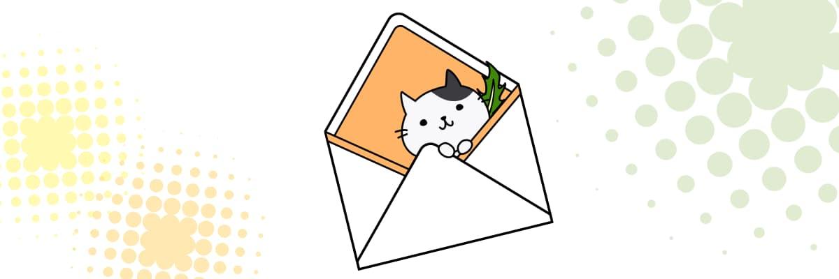 knower(ノワー)の使い方を説明する猫のキャラクター