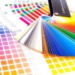 たくさんの色見本帳