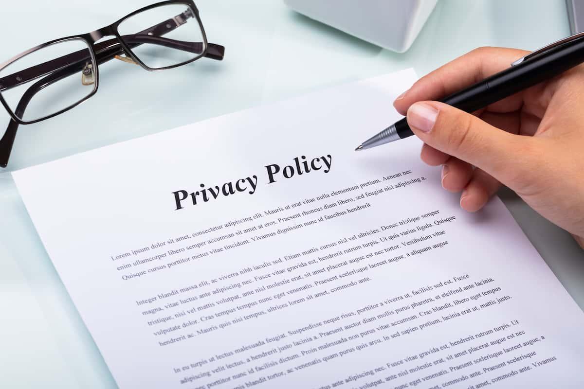 WordPressの管理画面でプライバシーポリシーを設定する