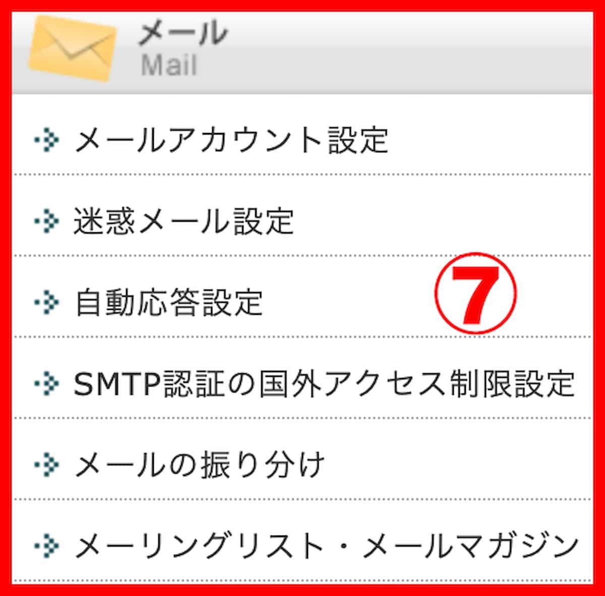 新しいwpxレンタルサーバーのコントロールパネルのメールアドレス